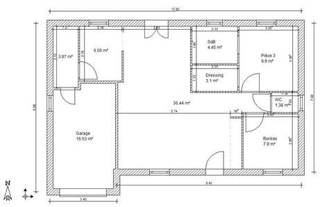 logiciel plan maison gratuit facile plan de maison simple