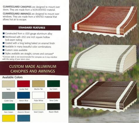 How To Paint Aluminum Awnings by 12 Places To Buy Aluminum Awnings Including From Three