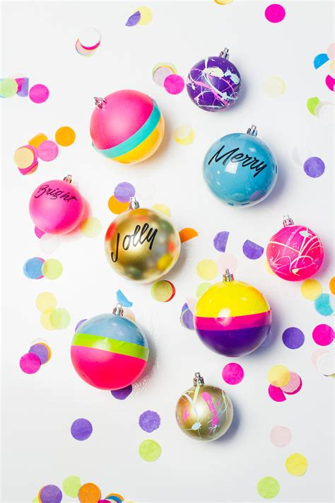 3 fun ways to decorate your christmas baubles bespoke