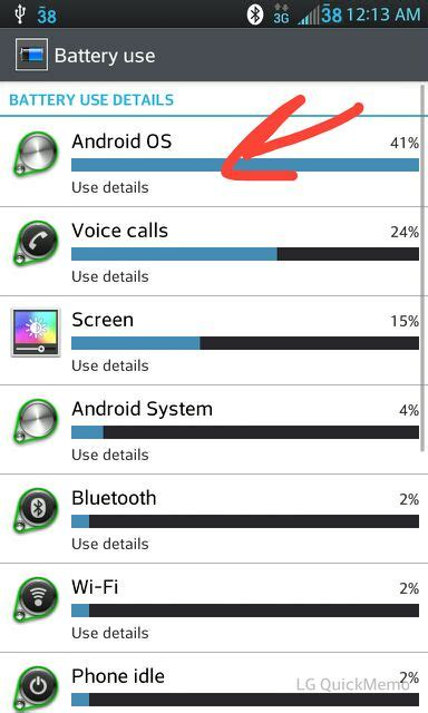 android os using battery android os battery use android forums at androidcentral
