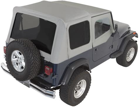 Jeep Soft Top Windows Rage Products Complete Soft Top Kit With Doors