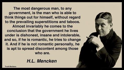 Quote Of The Day Hl Mencken by Hl Mencken Political Quotes Quotesgram