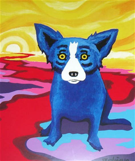 george rodrigue blue blue george rodrigue for sale