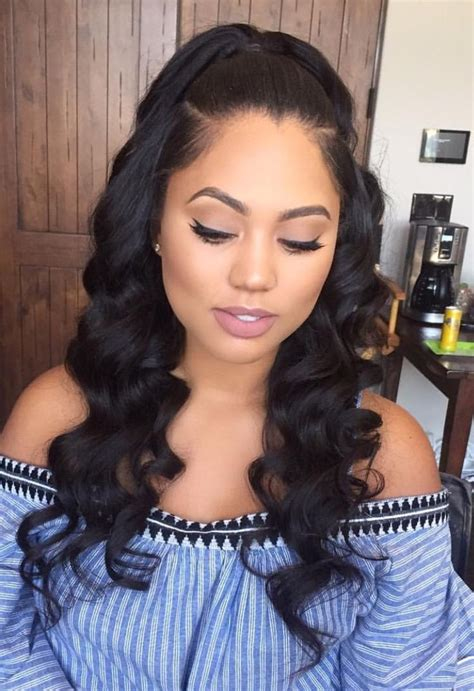 weave hairstyles loose wave weave hairstyles fade haircut
