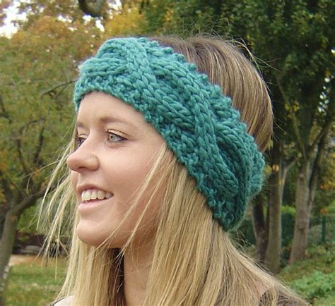 Cable Knit Headband Patterns A Knitting