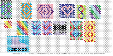 peyote stitch beading patterns peyote stitch craftycraftsblog