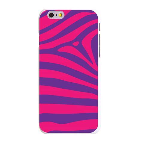 Iphone 6 6s Plus Zebra Pattern Hardcase custom cover for iphone 5s 6 6s plus purple pink zebra skin stripe ebay