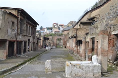 Italy Houses by Herculaneum In Italy A Visitor S Guide