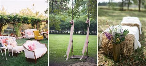 Hello Sunshine!   10 Outdoor Wedding Decor Ideas