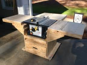 Used Bench Drill Quick Convert Tablesaw Router Miter Saw Caddy By Gcsdad