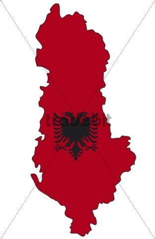 Albanian Flag Outline by Albania Flag Outline Places