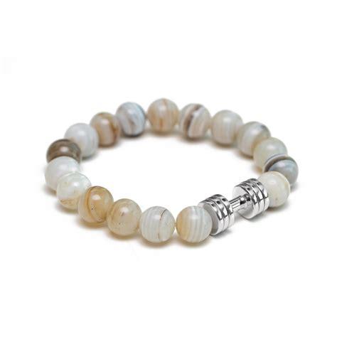 Agate Bracelet agate dumbbell bracelet the lucky charm fitness bracelet