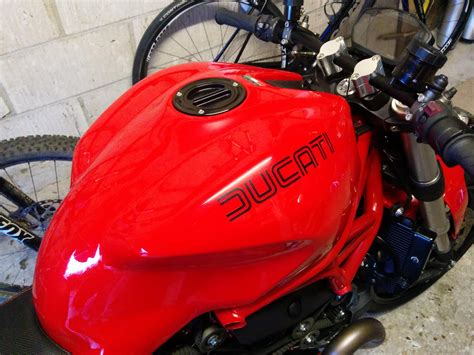 Ducati Vin Sticker by Any Modified Monster 1200 Owners Ducati Ms The