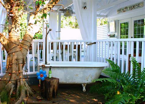 bohemian backyard 23 amazing inspirations that take the bathroom outdoors