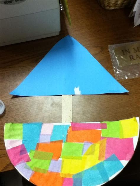 Paper Boat Craft For Preschoolers - 25 best ideas about boat crafts on boat craft