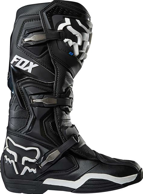 black dirt bike boots 2017 fox racing comp 8 boots mx atv motocross off road