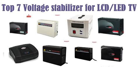 top 7 voltage stabilizer for lcd led tv 2017 reviewsellers