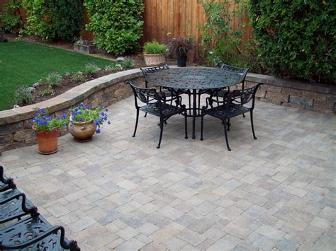 Types Of Pavers For Patio Patio Materials And Surfaces Hgtv
