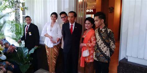 profil anaknya jokowi joko widodo kenalkan ketiga anaknya ke media kapanlagi com
