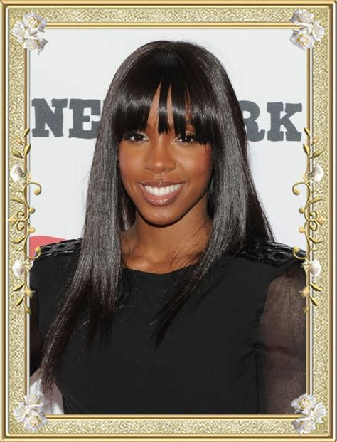 Black Hairstyles With Bangs For by 11 Effortless Layered Hairstyles With Bangs