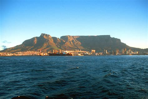 Table Mountain South Africa by Phoebettmh Travel South Africa Table Mountain The Landmark Of Cape Town