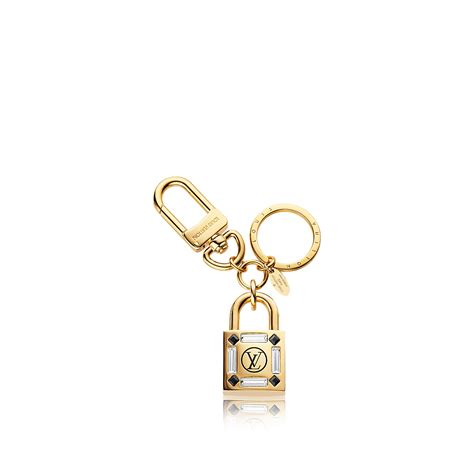 lock me strass bag charm and key holder accessories