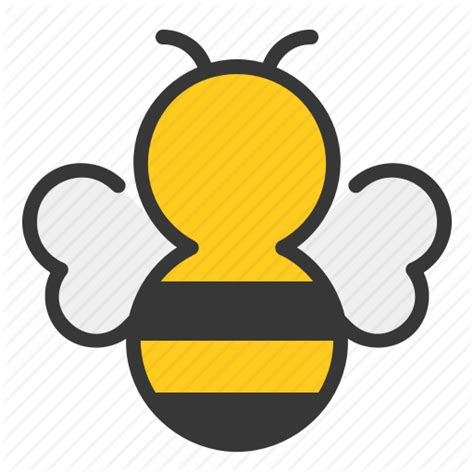 honey bee icon iconfinder bee farm filled by cute icon