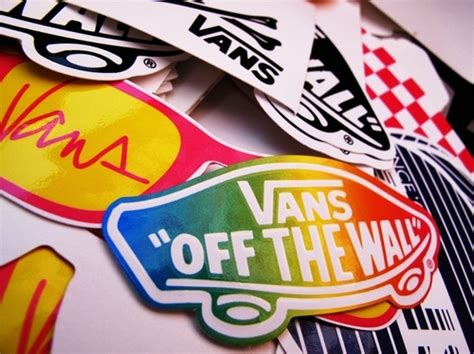 Vans Off The Wall Sticker collages off the wall skate sticker stickers vans