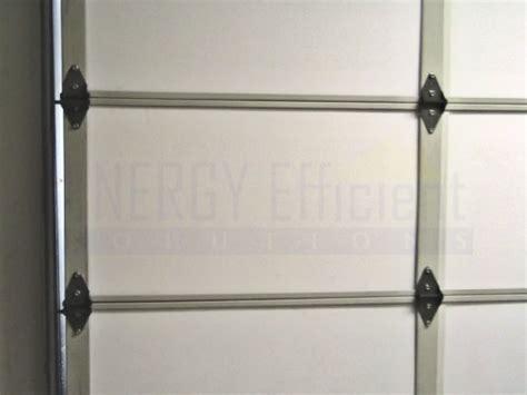 how to install garage door insulation