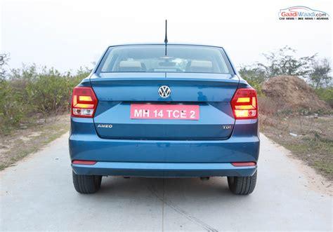 volkswagen ameo volkswagen ameo 1 5 diesel dsg review gaadiwaadi com