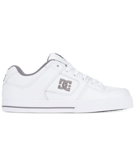 white dc sneakers dc shoes sneakers in white for lyst