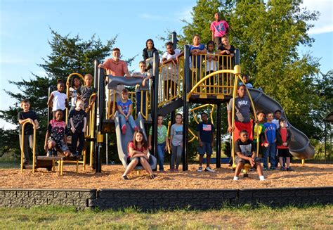 our hero fannindel elementary receives new playground