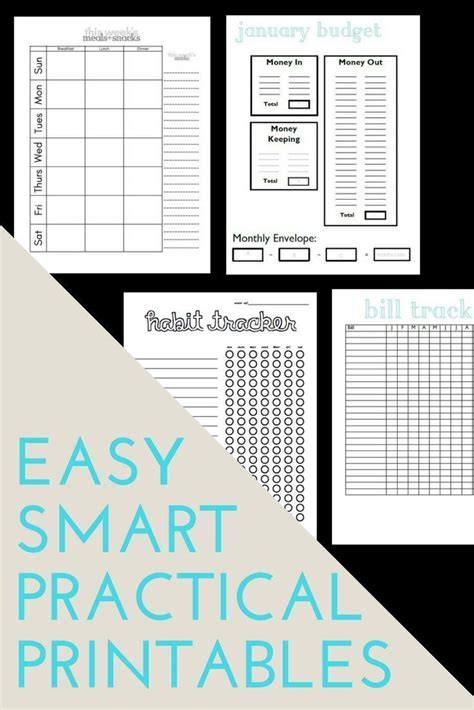 free printable household notebook planner pages debt free budget templates printable planner planner pages