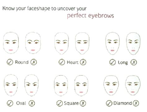 a visual guide to eyebrow shapes brows 101 grooming shaping and rules to live by the