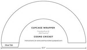 cupcake liner template free cupcake wrapper template or make your own the outside
