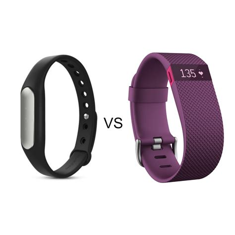 fit bit fitness trackers 18 mi band vs the 130 fitbit charge hr