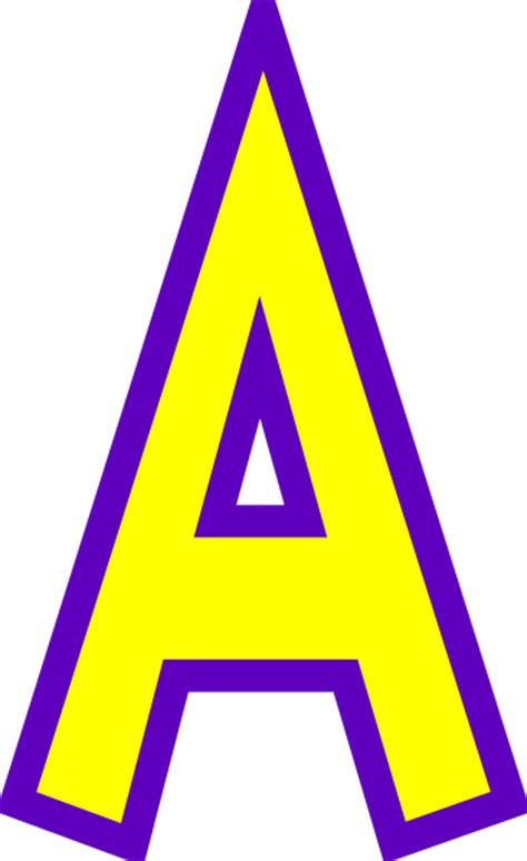 letter a clipart letter a clip at clker vector clip