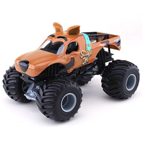 scooby doo monster truck video 1 24 wheels scooby doo truck