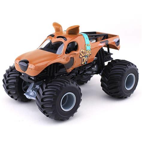 scooby doo monster jam truck toy 1 24 wheels scooby doo truck
