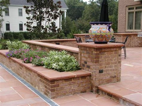 brick planter box ideas woodworking projects plans