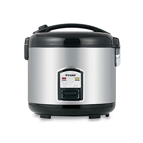 Rice Cooker Stainless Steel Sanken buy oyama 10 cup stainless steel rice cooker from bed bath beyond