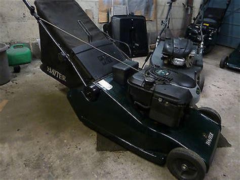 hayter harrier  electric start  propelled lawn mower lawnmowers shop
