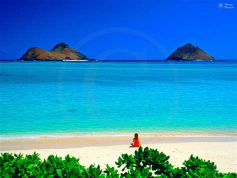 water hawaii lanikai beautiful beaches with clear