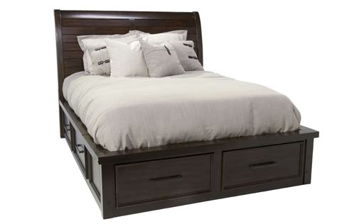 sonoma queen storage bed mor furniture