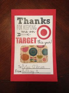 Target Gift Card Teacher Appreciation - a perfect little package on pinterest wrapping packaging and favors
