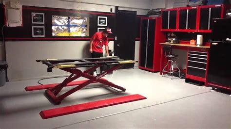 garage setup youtube