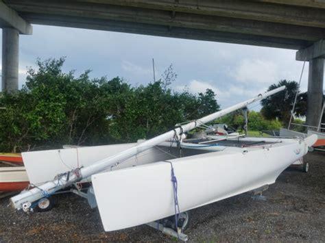 nacra catamaran for sale in florida nacra 5 0 catamaran with trailer for sale in vero beach