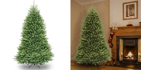 best deals on articificial trees save on an artificial tree from 7 5 ft dunhill fir for 100 more 9to5toys
