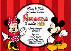 mickey and minnie mouse birthday invitations bagvania free printable invitation template