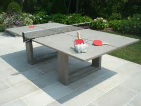 Table Top Grills Concrete Ping Pong Dining Table By James Dewulf Bonjourlife
